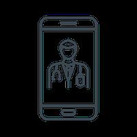 virtual treatment icon